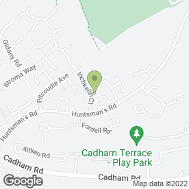 Map of Glenrothes Locksmiths in Glenrothes, fife