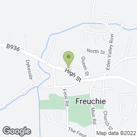 Map of Lomond Hills Hotel & Leisure Centre in Freuchie, Cupar, fife