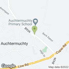 Map of Digital Soul Design in Auchtermuchty, Cupar, fife