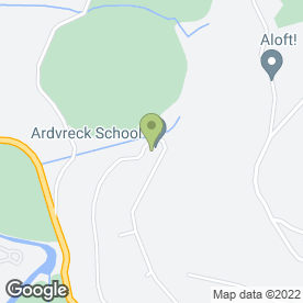Map of Ardvreck School in Crieff, perthshire