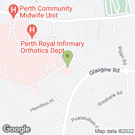Map of Taymount Surgery in Perth, perthshire