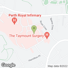 Map of Hospital Radio Perth in Perth, perthshire