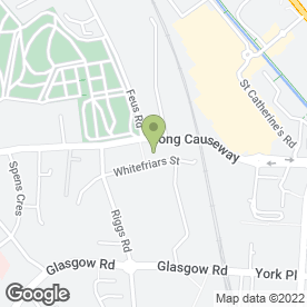 Map of National Tyres and Autocare in Perth, perthshire