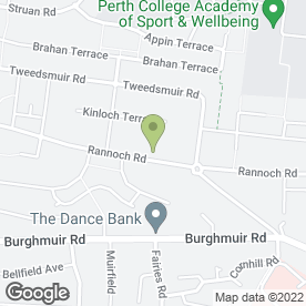 Map of LK Nails - Mobile Nail Technician in Perth, perthshire