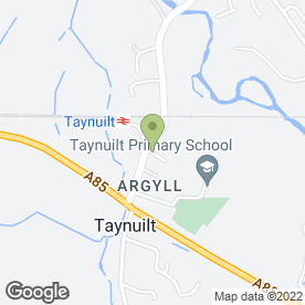 Map of Drs Davies, Lyon & Bennett in Taynuilt, argyll