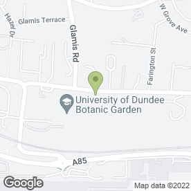 Map of Balgowan House in Dundee, angus