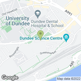 Map of Wangbar Scotland Ltd in Dundee, angus