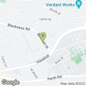 Map of Top Class Carpets in Dundee, angus