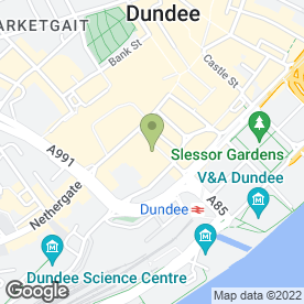 Map of Goodfellow & Steven in Dundee, angus