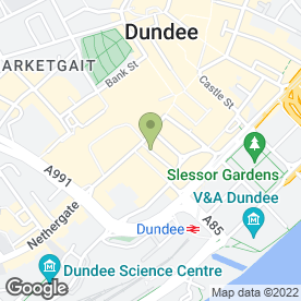 Map of Bluemotion Creative in Dundee, angus