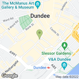 Map of City Flowers in Dundee, angus