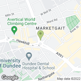 Map of Barrys Web Design in Dundee, angus