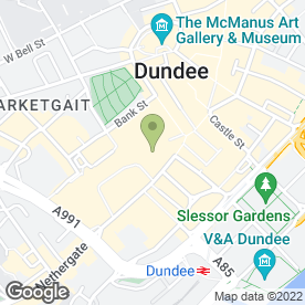 Map of Millies Cookies Ltd in Dundee, angus