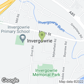 Map of McDougall Plumbing & Heating Ltd in Invergowrie, Dundee, angus