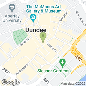 Map of Robertson & Watt in Dundee, angus