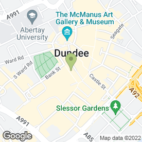 Map of McDonald's Restaurants Ltd in Dundee, angus