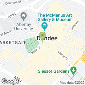 Map of Thai Massage Dundee in Dundee, angus