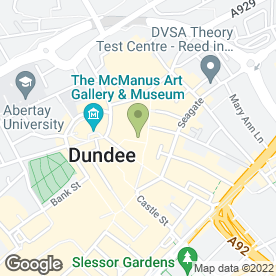 Map of Caffe Nero in DUNDEE, angus
