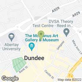 Map of RSK Tech Ltd in Dundee, angus