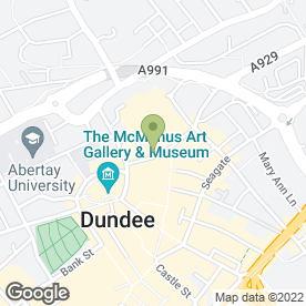 Map of JAB Recruitment Ltd in Dundee, angus