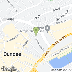 Map of Enterprise Rent-A-Car in Dundee, angus