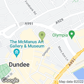 Map of Deja Vu in DUNDEE, angus