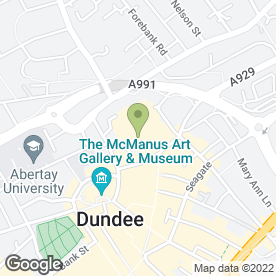 Map of B.B's Coffee & Muffins in Dundee, angus