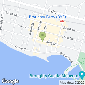 Map of Aquarius Tile & Bathroom in Broughty Ferry, Dundee, angus