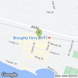 Map of Greggs in Broughty Ferry, Dundee, angus
