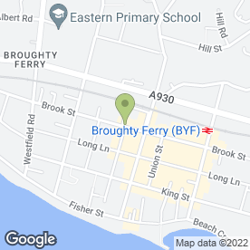 Map of The Cake Guru in Broughty Ferry, Dundee, angus