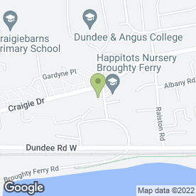 Map of Oranges & Lemons in Broughty Ferry, Dundee, angus