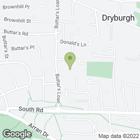 Map of GRB Plasterers in Dundee, angus