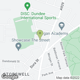 Map of The Studio Kitchens & Bathrooms in Dundee, angus