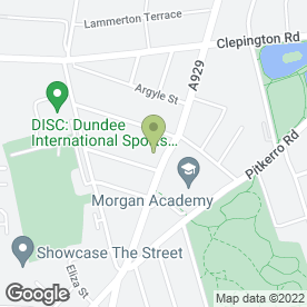 Map of J Carlin Plastering Services in Dundee, angus