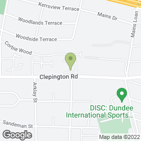 Map of Autosave Components in Dundee, angus