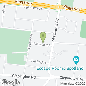 Map of Centurion UK Security Services Ltd in Dundee, angus