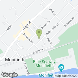 Map of Mark Dickson Roofer & Slating in Monifieth, Dundee, angus