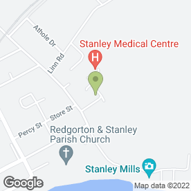 Map of Stanley Medical Centre in Stanley, Perth, perthshire