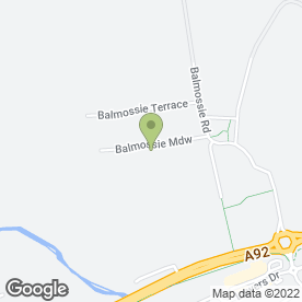 Map of Balmossie Building Services Ltd in Dundee, angus