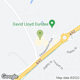 Map of Brewers Fayre in Monifieth, Dundee, angus