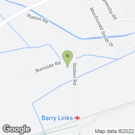 Map of Alan Brown Roofing in Barry, Carnoustie, angus