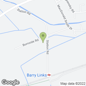 Map of Alan Brown in Berry, Carnoustie, angus