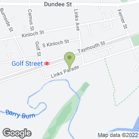 Map of Vend 1 in Carnoustie, angus