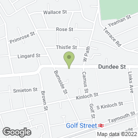 Map of Duncan Martin Joiners in Carnoustie, angus