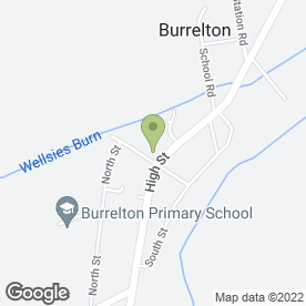 Map of RJ Wilkie in Burrelton, Blairgowrie, perthshire