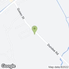 Map of C DAVIDSON in Coupar Angus, Blairgowrie, perthshire