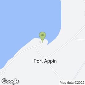 Map of Port Appin Surgery in Port Appin, Appin, argyll