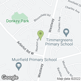 Map of Castle Security Ltd in Arbroath, angus