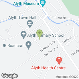 Map of Bill Fleming (Alyth) in Alyth, Blairgowrie, perthshire
