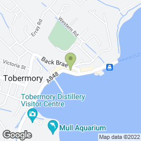 Map of Failte Guest House in Tobermory, Isle Of Mull, isle of mull